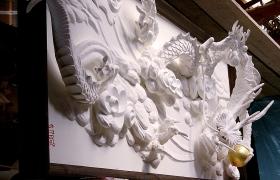 時松神社にある雲龍